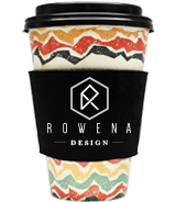 Custom Premium Foam Collapsible Coffee Wrap Koozies