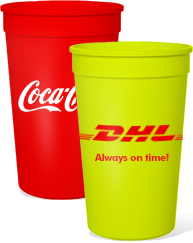 Custom 32oz Stadium Cups
