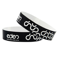 Water-Resistant Paper Wristbands