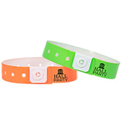Custom Low Minimum Vinyl Wristbands