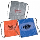 The Clear-View Drawstring Bag