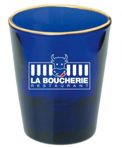 Cobalt Shot Glass- 1.5 oz.
