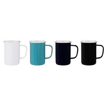 Custom 22 Oz Whitney Enamel Mugs