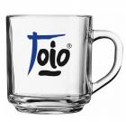 Handy Glass Coffee Mug- 10 oz.