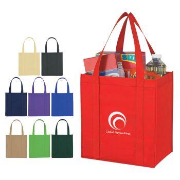 Non-Woven Avenue Shopper Tote Bags