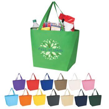 Non-Woven Budget Shopper Tote Bags